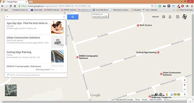 """Search for """"*"""" in Google Maps"""